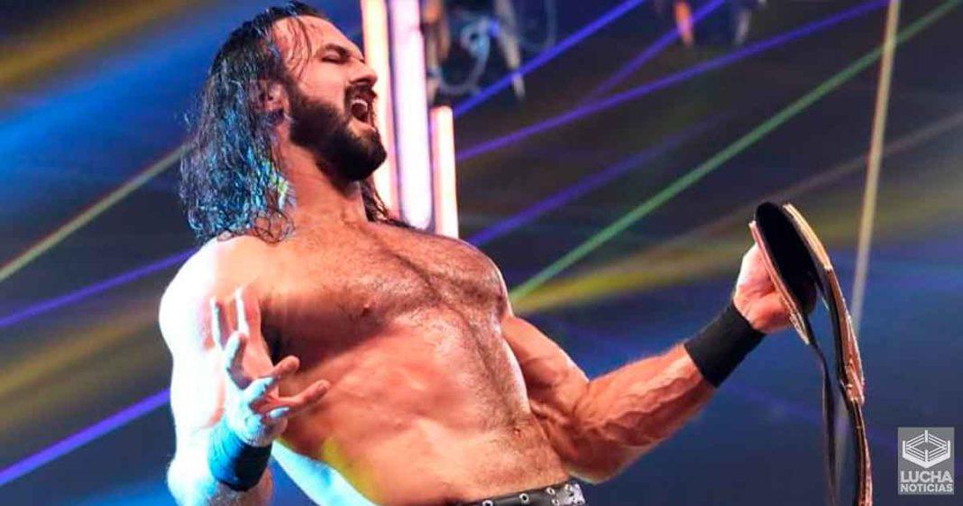 Razón por la cual Drew McIntyre ganó el campeonato de la WWE antes de Survivor Series