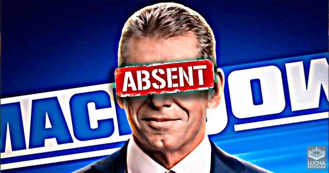 Razón por la cual Vince McMahon no estuvo la semana pasada en SmackDown