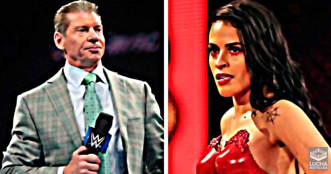 Razón por la cual WWE despidió a Zelina Vega