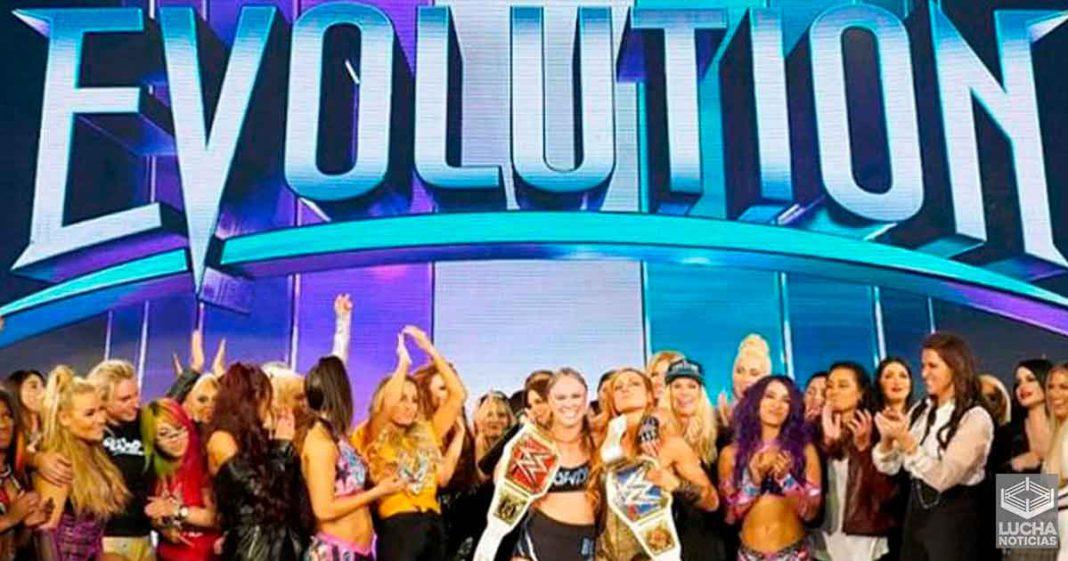 Razón por la cual WWE no realizó la seguna edición del PPV Evolution