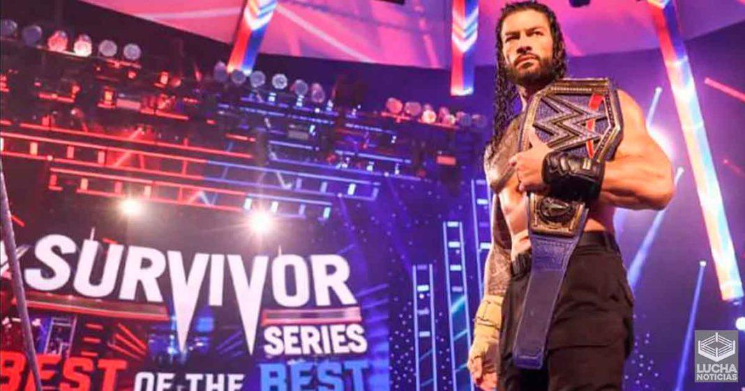 Roman Reigns carga a la WWE en su espalda trás Survivor Series