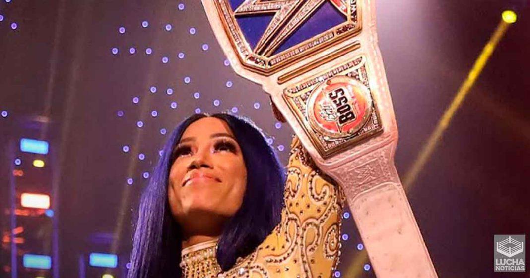 Sasha Banks dice que su reinado como campeona se siente diferente