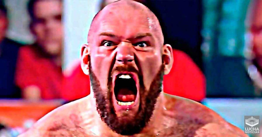 Terribles noticias para el futuro de Lars Sullivan en WWE SmackDown