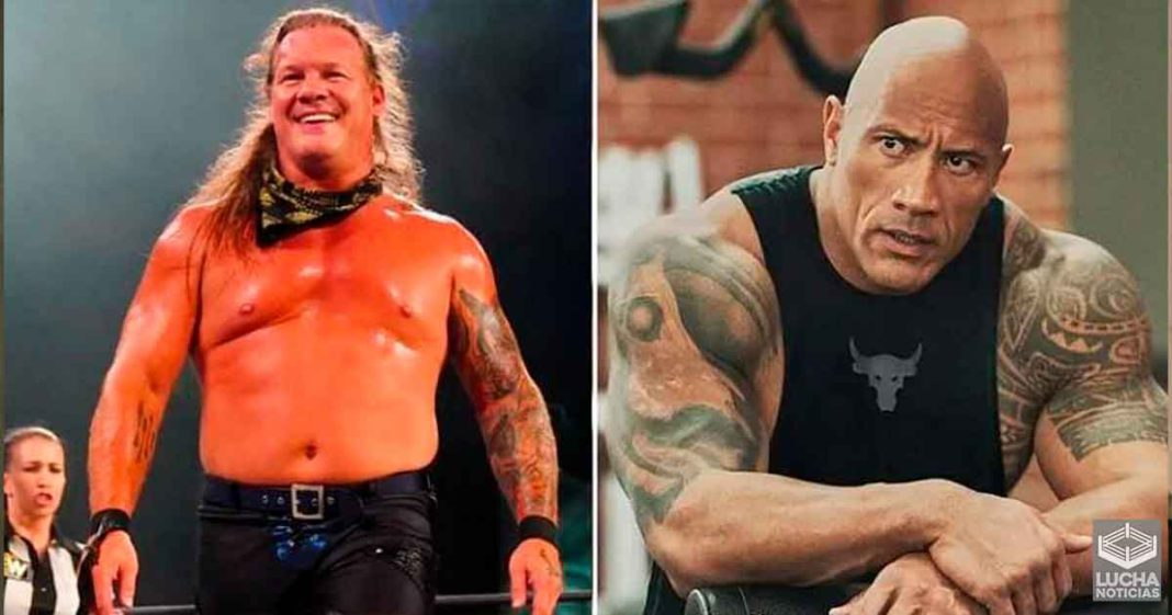 The Rock envia emotivo mensaje a Chris Jericho