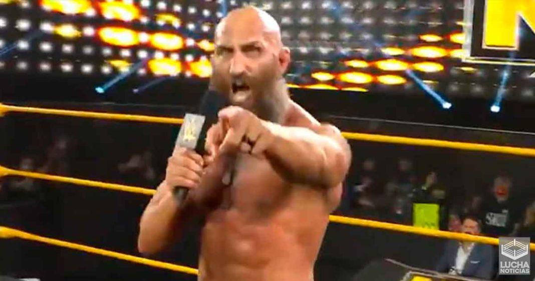 Tommaso Ciampa realiza apasionante promo luego de que WWE NXT salió del aire