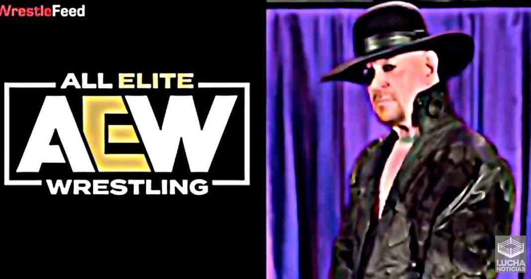Undertaker hace un cameo hablando de AEW