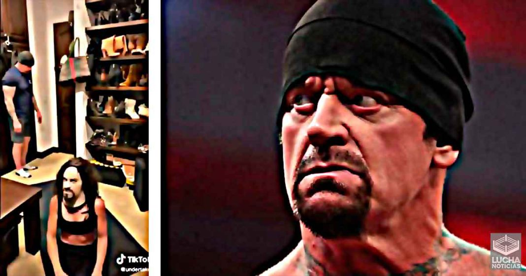 Undertaker realiza su primer video en Tik Tok