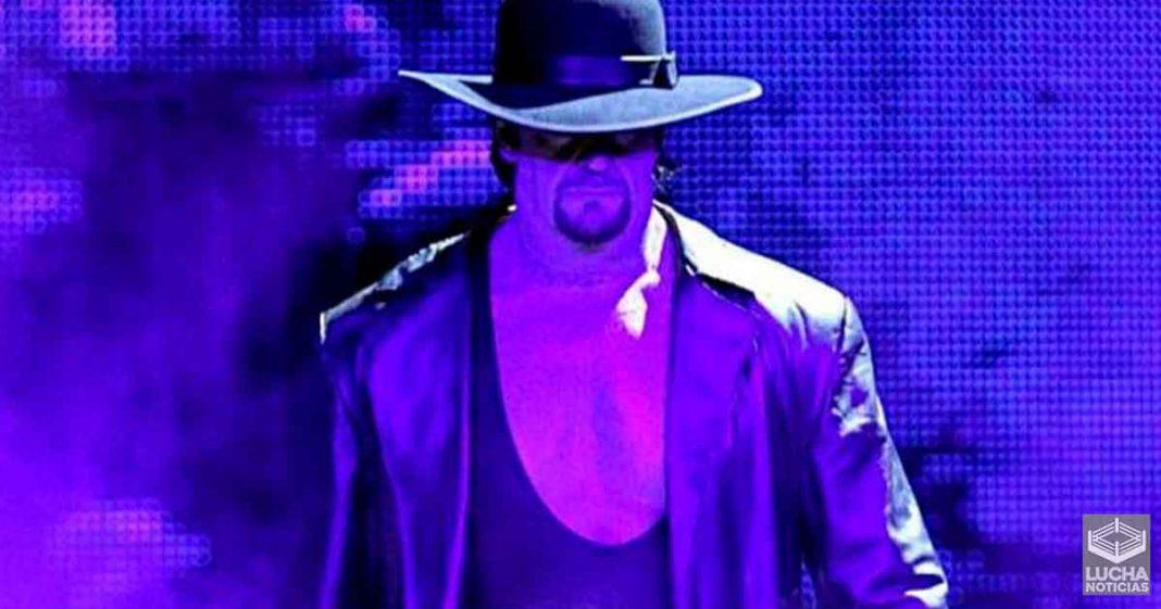 Undertaker se siente atado con su persoje de la WWE