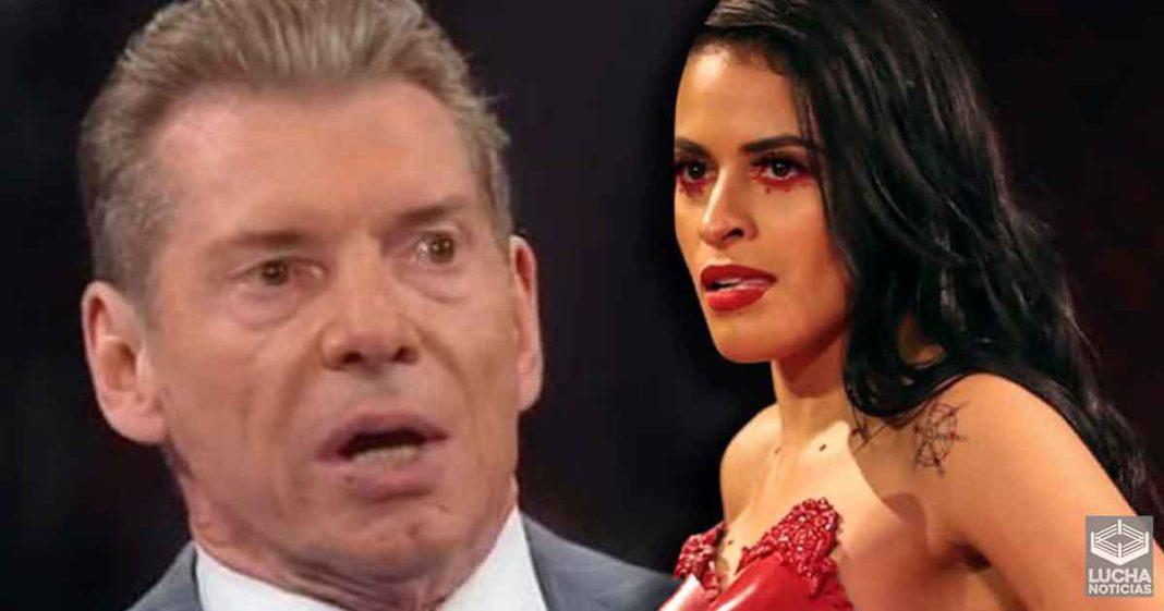Vince McMahon no quería ver a Zelina Vega antes de despedirla