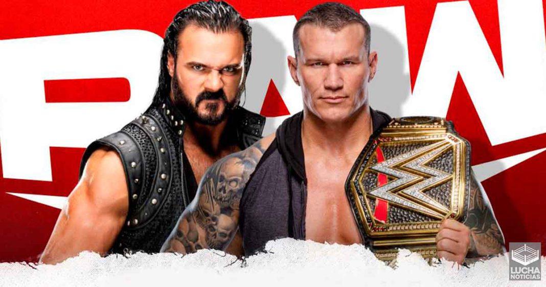 WWE RAW en vivo, Cobertura y Resultados 16 de noviembre