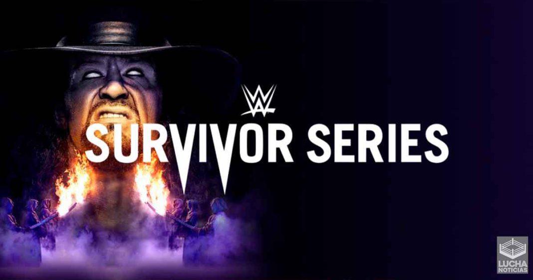WWE Survivor Series en vivo, Cobertura y Resultados 22 de noviembre