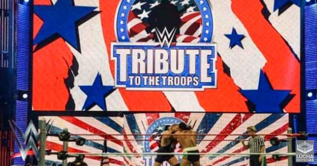 WWE Tribute To The Troops regresá el siguiente mes