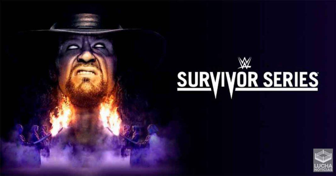 WWE anuncia otra lucha para Survivor Series