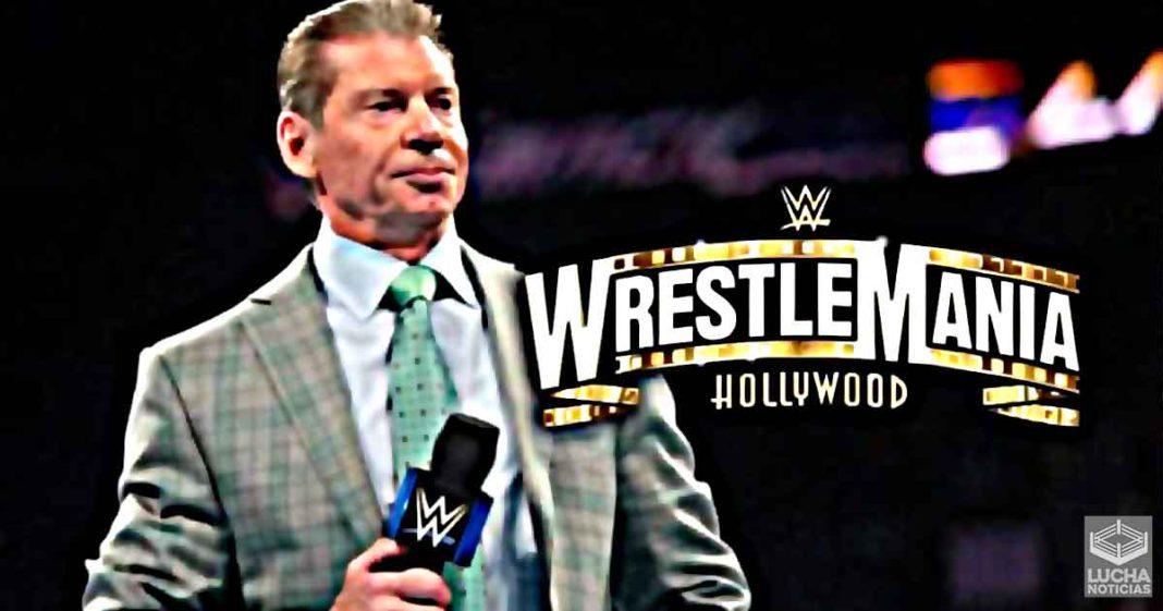 WWE espera organizar shows en vivo con fanáticos la noche después de WrestleMania 37