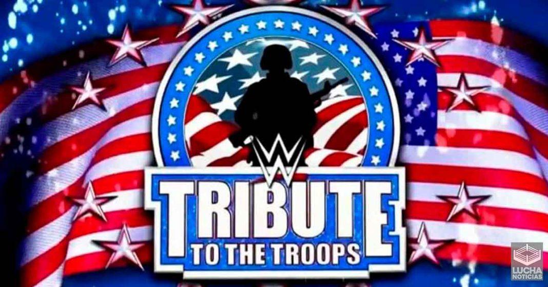 WWE está considerando regresar el Tributo a las Tropas