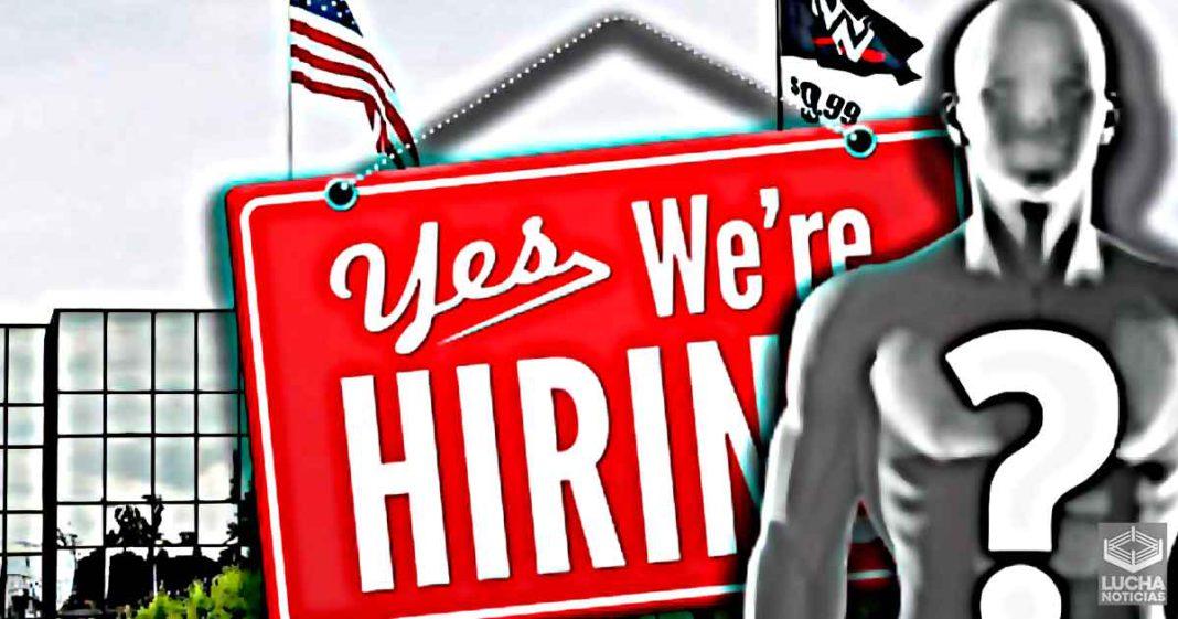 WWE está contratando un nuevo jefe de departamento
