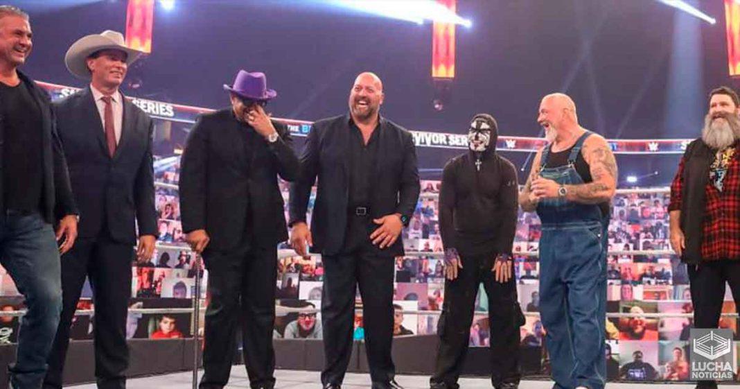 WWE grabó mucho material en backstage durante Survivor Series