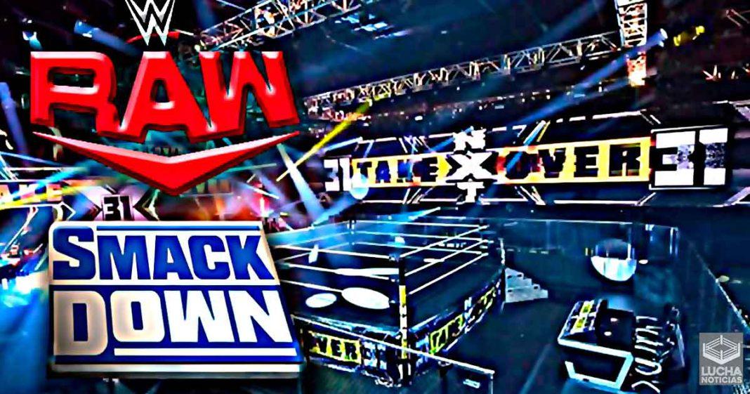 WWE movería RAW y SmackDown al NXT Capitol Wrestling