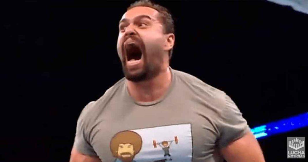 WWE multó a Miro por cortarse el cabello