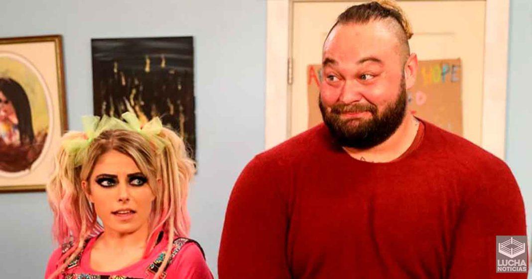 WWE planea gran lucha por equipos mixtos para Bray Wyatt y Alexa Bliss