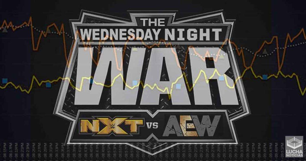 AEW Dynamite vence a WWE NXT con casi un millon de espectadores