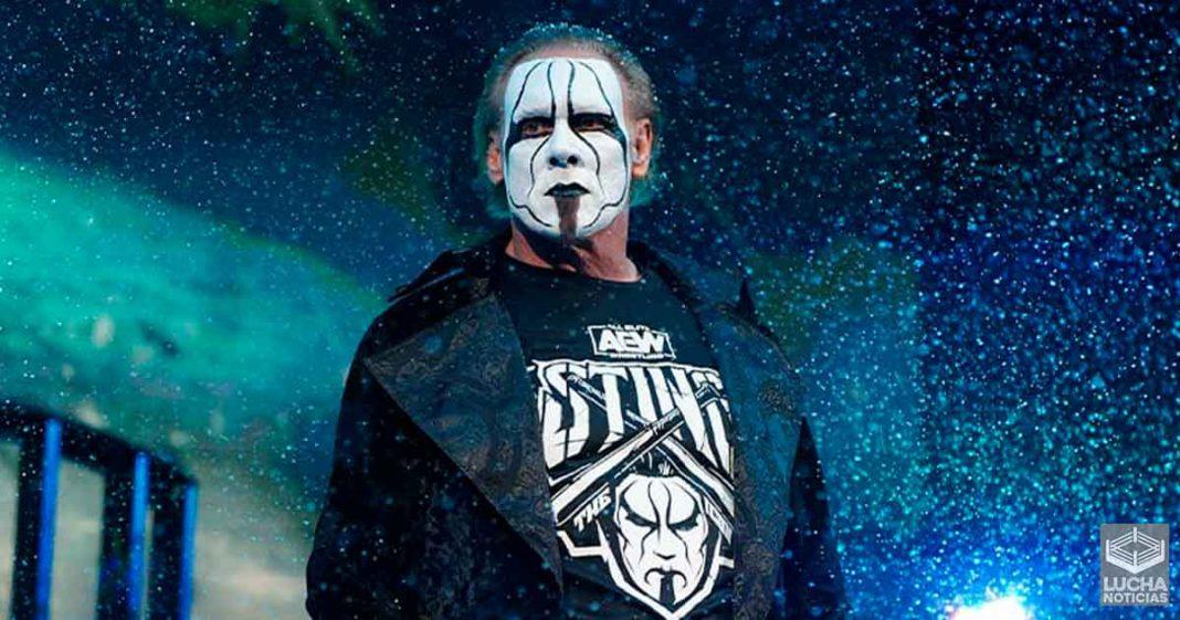 AEW firmó a Sting hace bastante tiempo