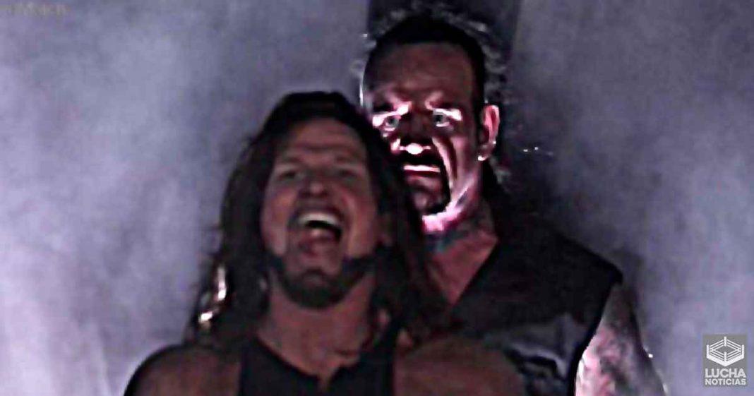 AJ Styles revela que nadie sabia que la lucha de Undertaker en WrestleMania 36 sería la ultima