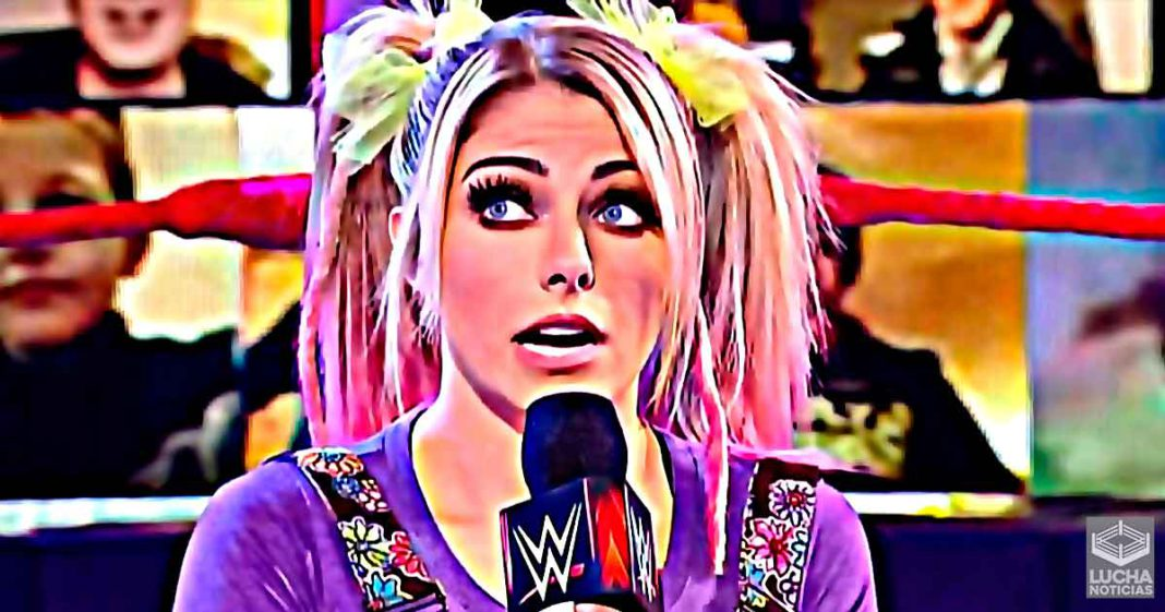 Alexa Bliss revela por qué ha estado ausente de WWE RAW