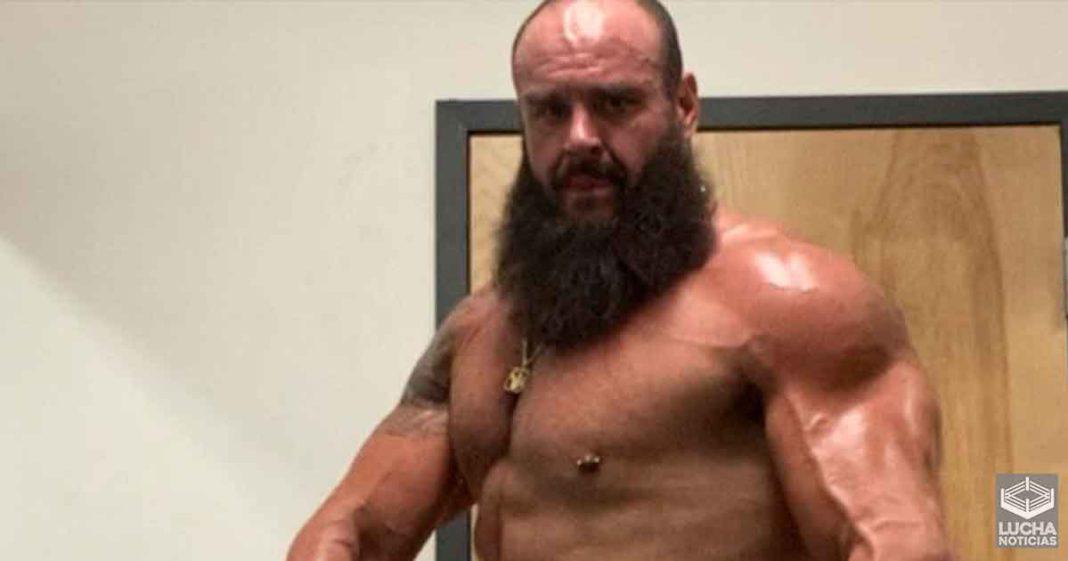 Braun Strowman nos muestra su increible físico