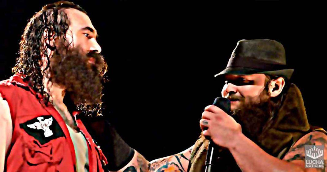 Bray Wyatt rompe el personaje y manda emotivo mensaje para su fallecido amigo Brodie Lee