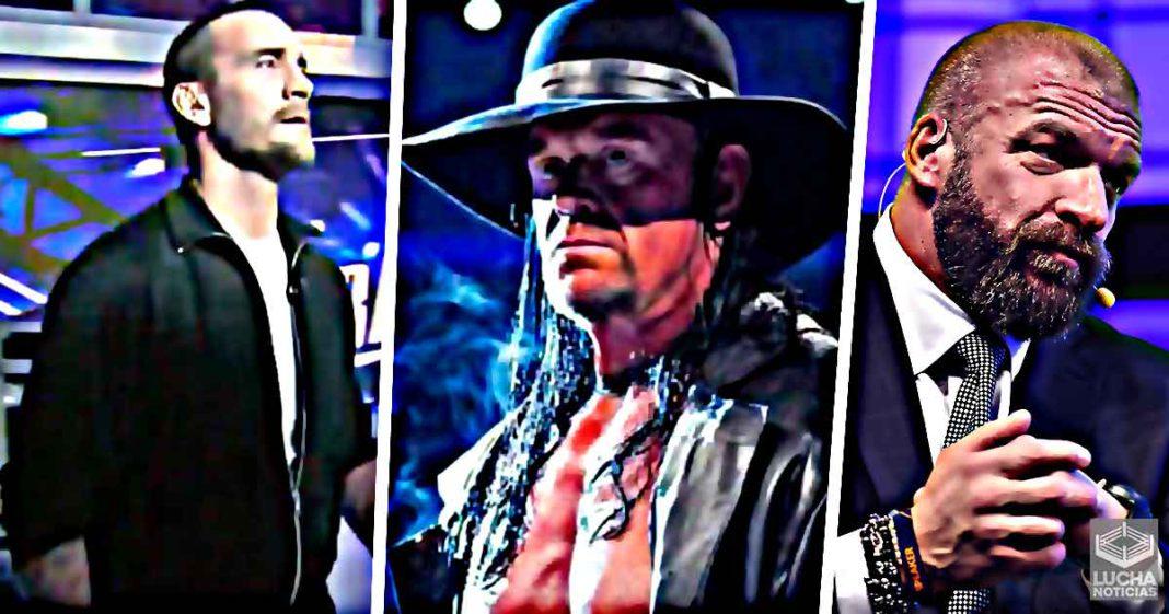 CM Punk, Undertaker y Triple H se unen por NXT
