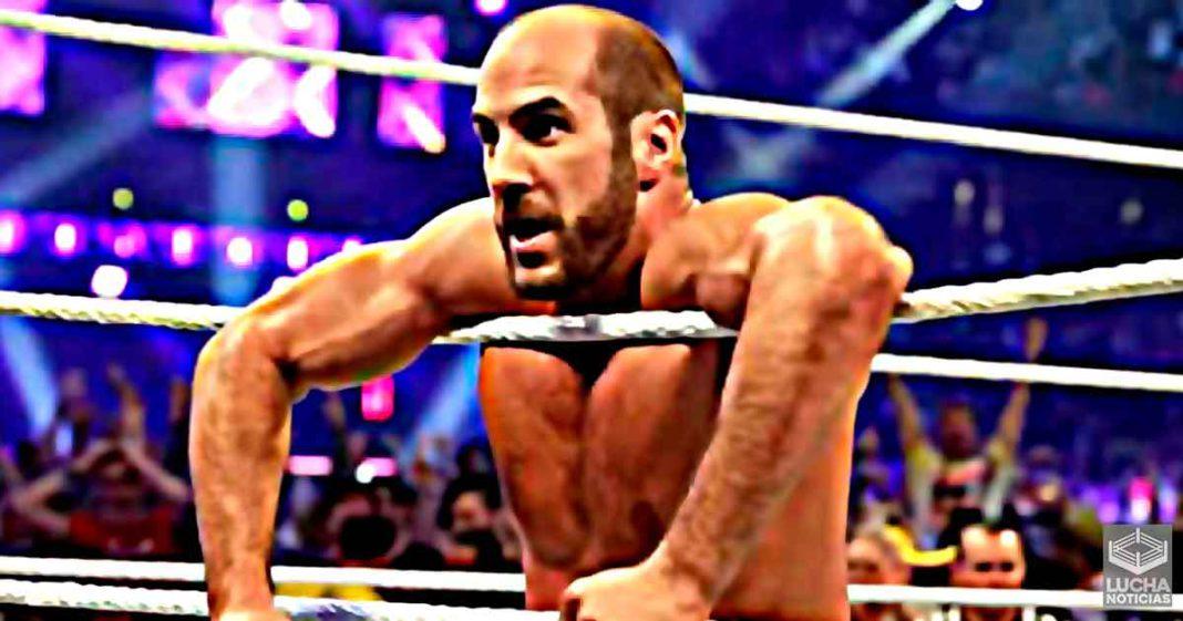 Cesaro tiene gran apoyo de superestrella estelar de WWE