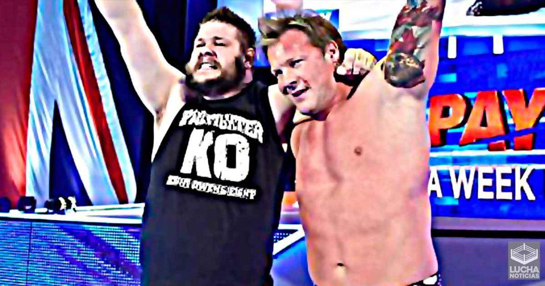 Chris Jericho dice que pudo haber salvado a Kevin Owens en TLC