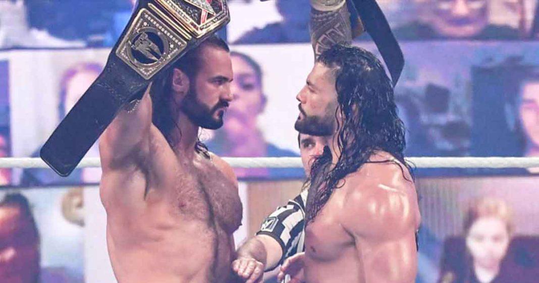 Drew McIntyre afirma que Roman Reigns es un pedazo de basura