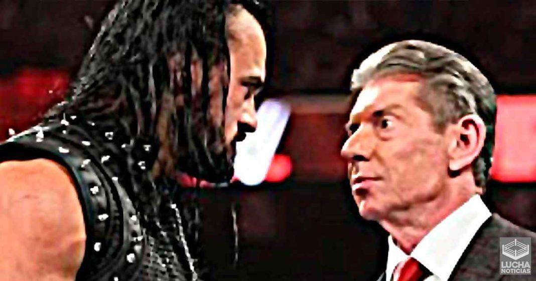 Drew McIntyre revela lo que le dijo Vince McMahon cuando regreso al elenco principal