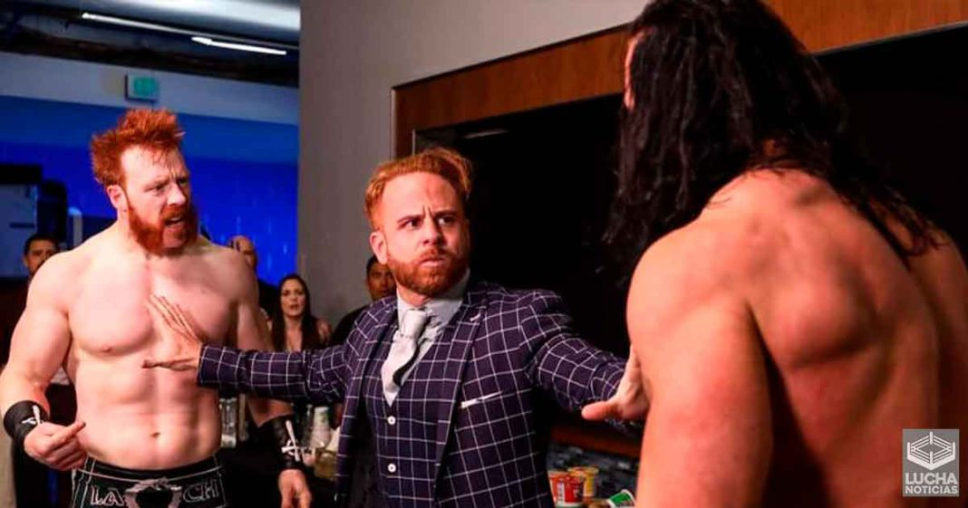 Drew McIntyre y Sheamus en problemas por su pelea en backstage