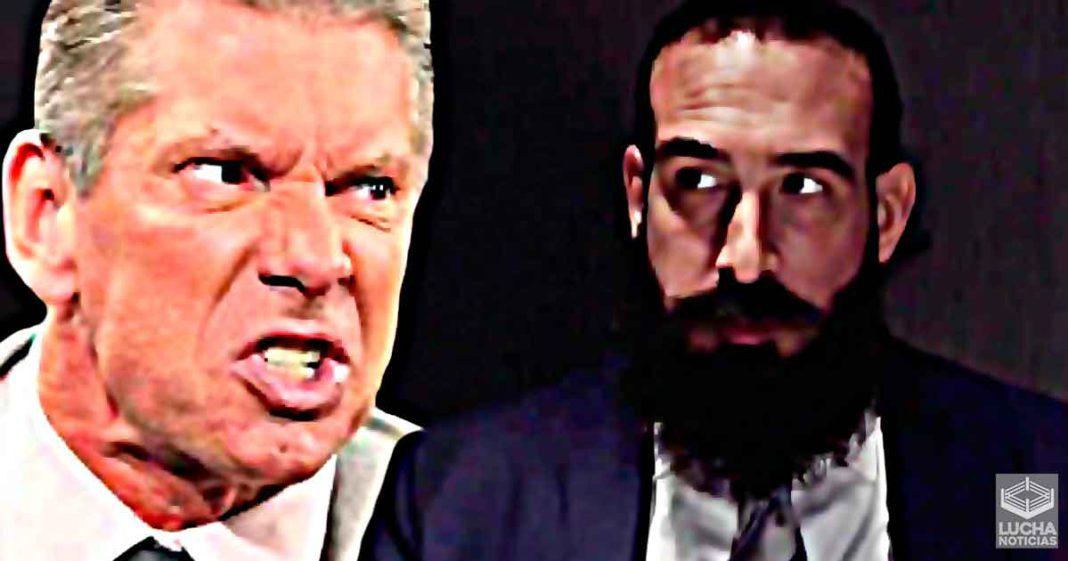 El día en el que WWE le quitó a Luke Harper (Brodie Lee) su lucha en WrestleMania