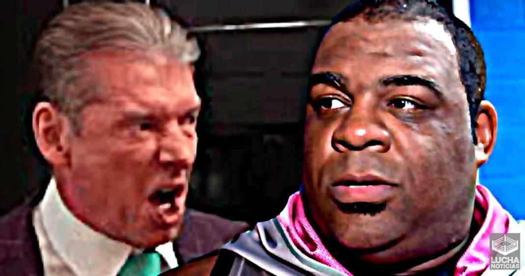 Keith Lee habla del día que recibió un puñetazo en la mandibula de Vince McMahon