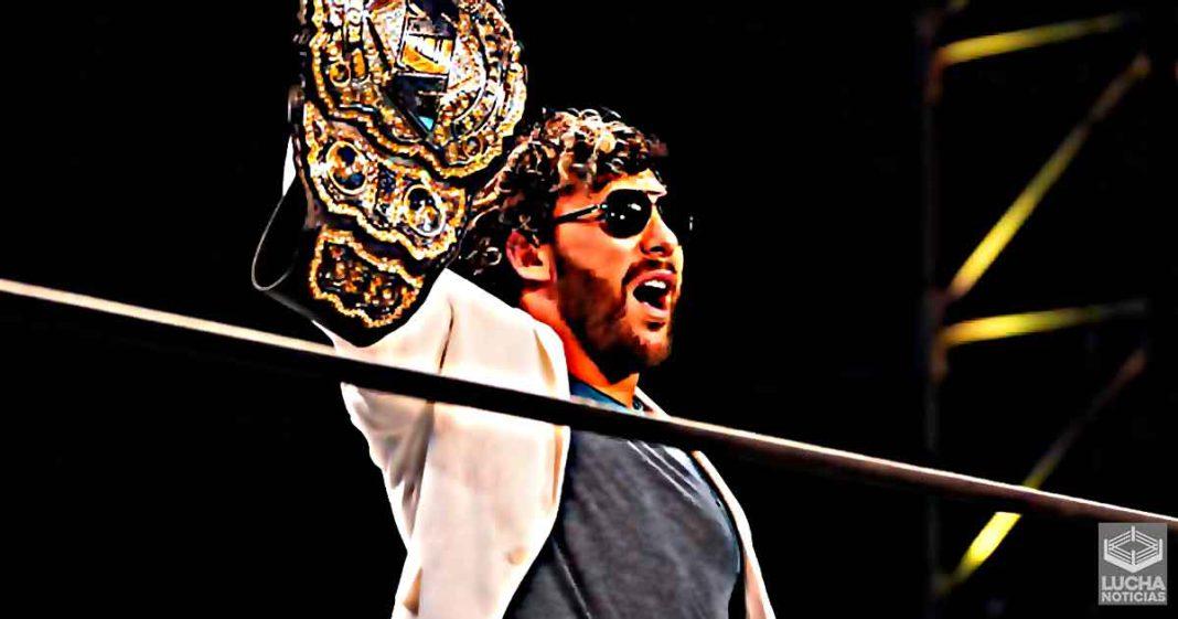 Kenny Omega pierde el campeonaot de AEW en las grabaciones de Holyday Bash
