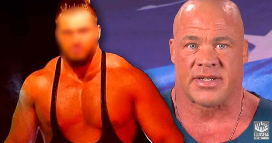 Kurt Angle intento que destacad estrella de AEW firme con WWE