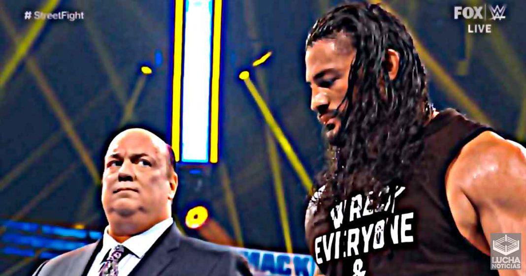 Los confusos planes para Roman Reigns en WrestleMania 37