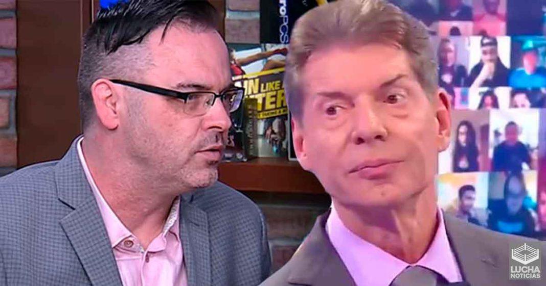 Mauro Ranallo nunca vio cara a cara a Vince McMahon en WWE
