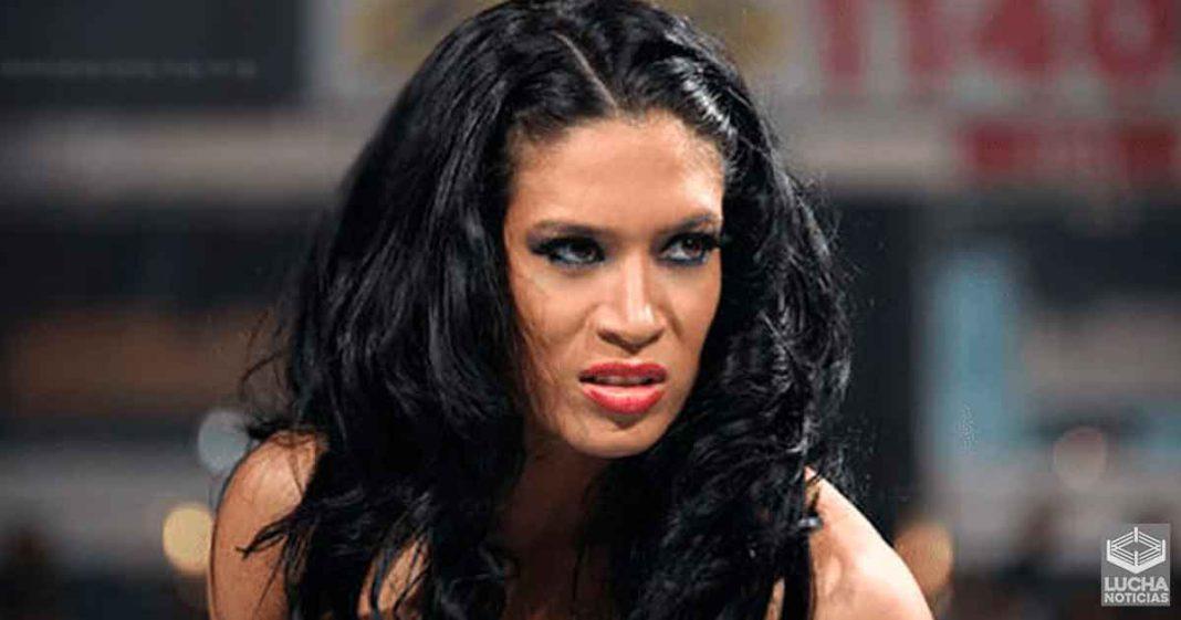 Melina no esta contenta con las noticias de su regreso a la WWE