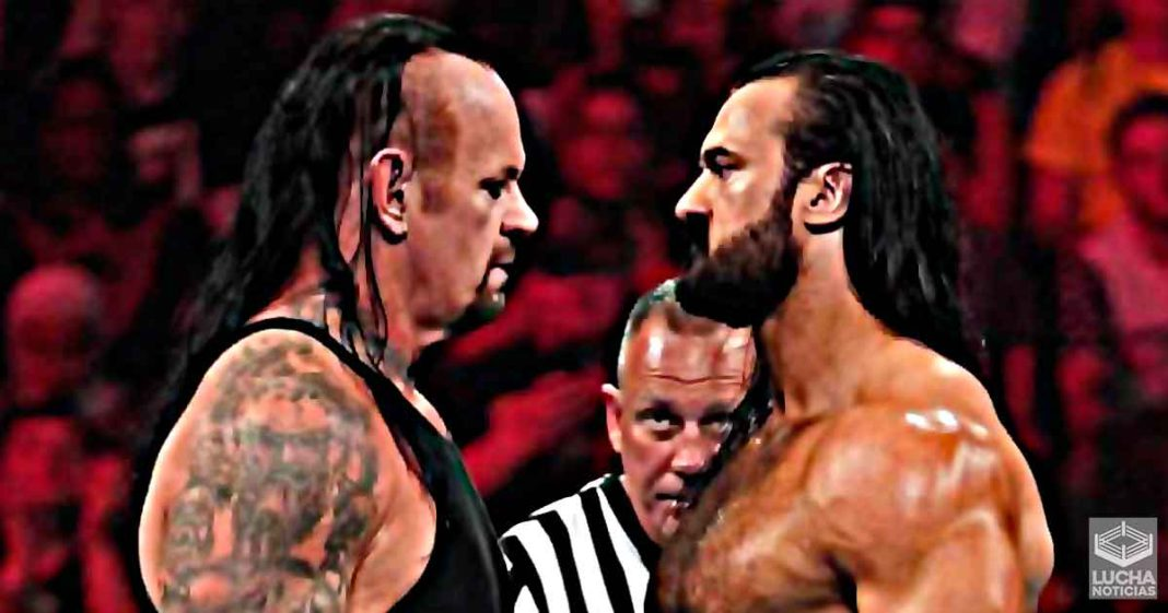 Plan original para Drew McIntyre vs Undertaker en WrestleMania 26