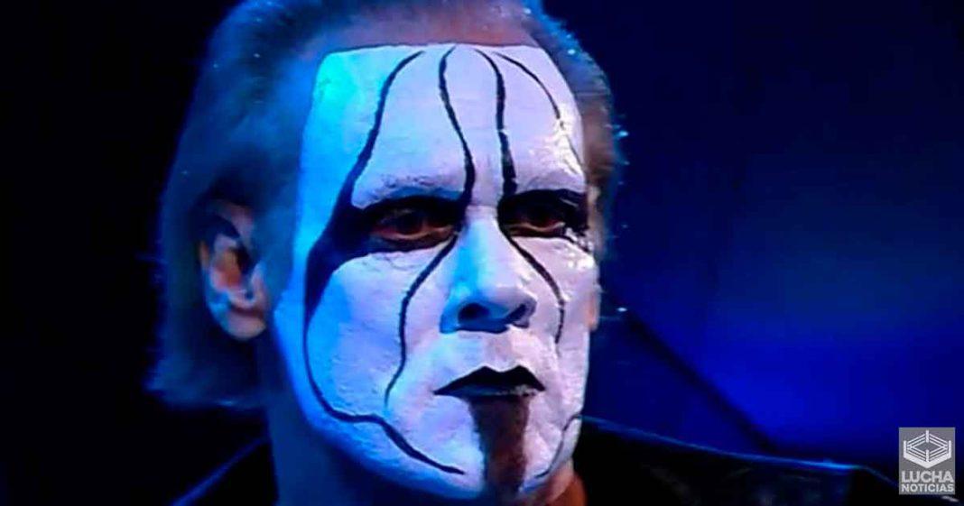 Planes para Sting en AEW luego de su debut en Dynamite