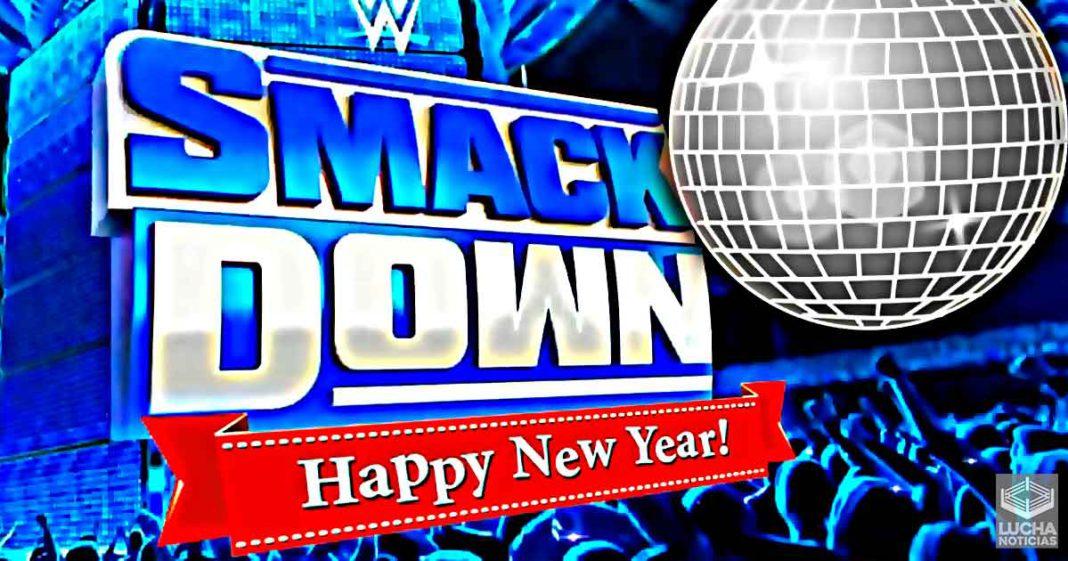 Planes para el episodio de año nuevo de WWE SmackDown