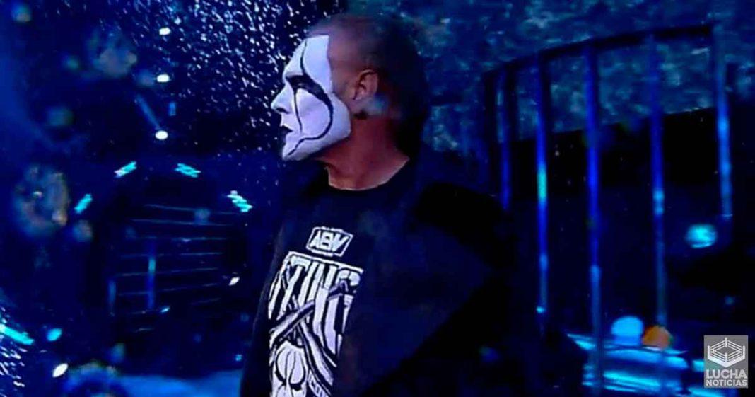 Razón por la cual AEW debuto a Sting antes de Navidad