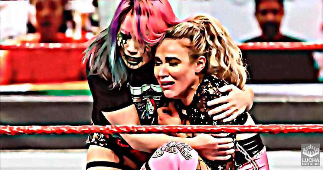 Razón por la cual Lana fue sacada del cartel de WWE TLC