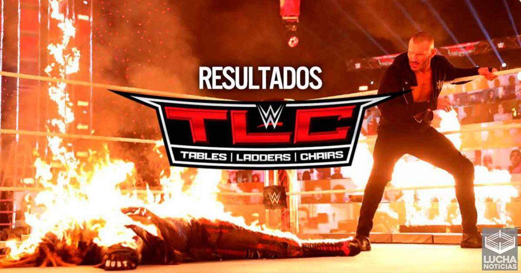 Resultados WWE TLC 2020 - Randy Orton quema vivo a Bray Wyatt, Roman retiene, Charlotte regresa