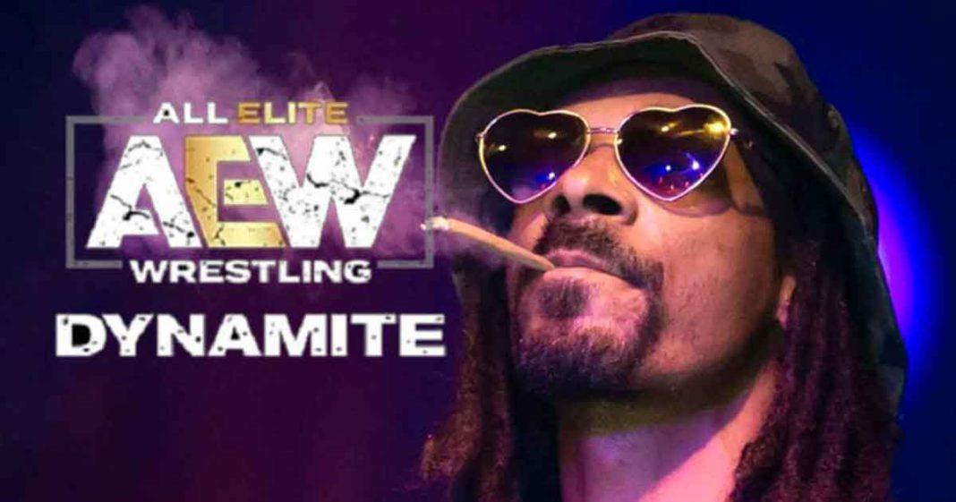 Snopp Dog estará la próxima semana en AEW Dynamite